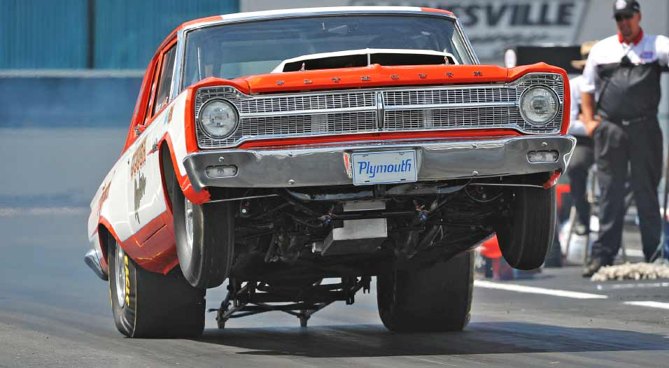Stock Super Stock Drag Racing