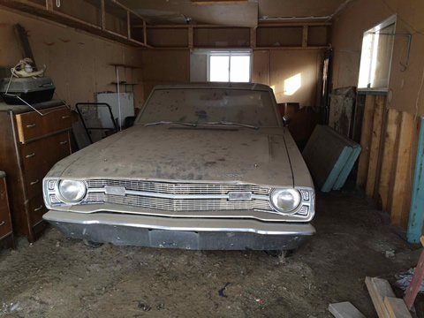 1969 Dart Swinger 340 barn find