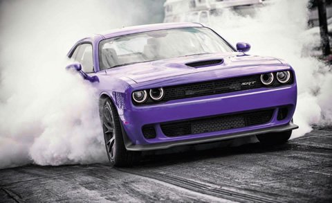 2016 Hellcat Plum Crazy Purple
