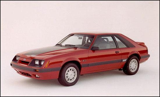 1985 Ford Mustang GT LX Specifications
