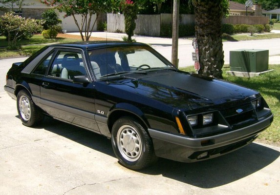 1986 Ford Mustang Gt Lx