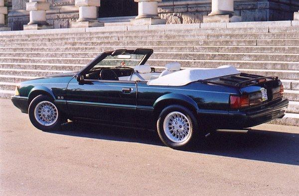Mustang Black Paint Code