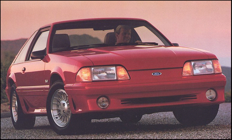 1990 Ford Mustang Gt Lx Specifications