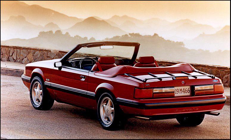 1991 Mustang Lx Convertible