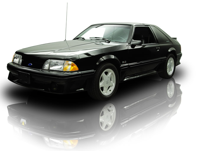 1993 ford mustang lx car interior design