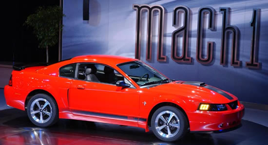 2003 Ford Mustang Mach 1 Specifications