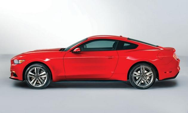 The 2015 Ford Mustang is a revamp of the 50 year old Ford pony car