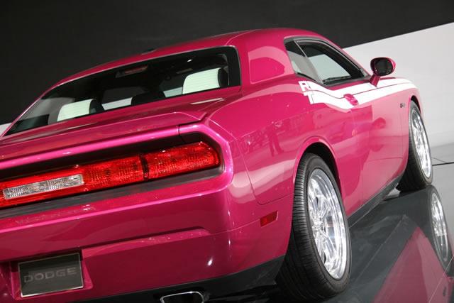 2010 Panther Pink Furious Fuchsia Dodge Challenger