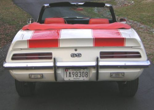 Camaro rear view
