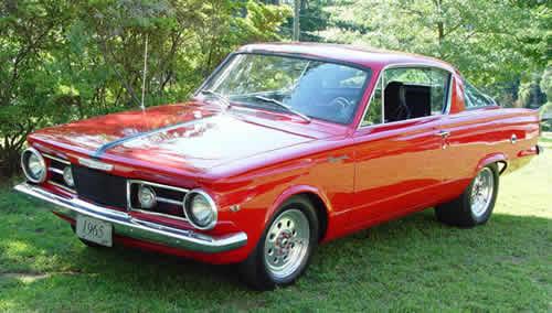 1965 Plymouth Valiant Barracuda