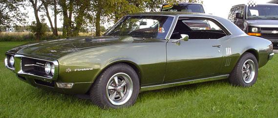 1968 Pontiac Firebird  My dream Garage  Pinterest  On my own