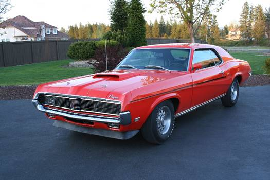 the 1969 Mercury Cougar saw many minor changes in the 1969 model year which