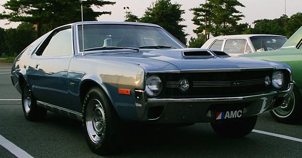1970 American Motors Amc Amx Overview
