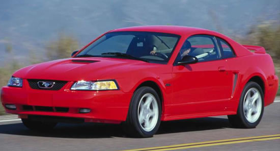 2000 ford mustang specifications