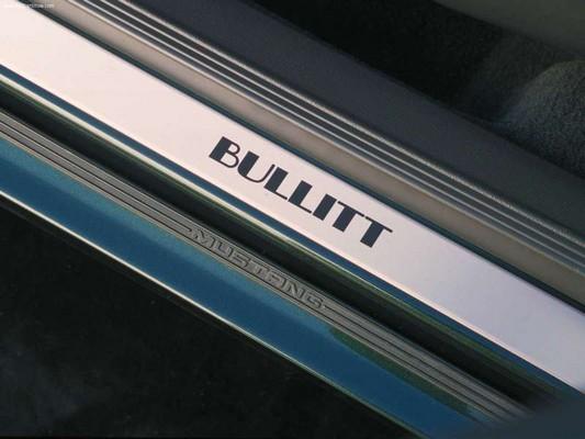 bullitt ford mustang specifications