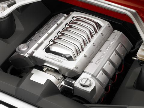 Camaro Motor on 2007 Chevrolet Camaro Concept Engine Jpg