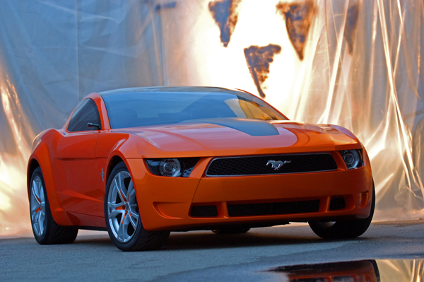 Automotive ProductsTypically 2010 Mustang Car
