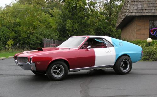 1969 AMC AMX Super Stock