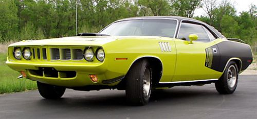 Plymouth Cuda Overview - MuscleCarDrive com