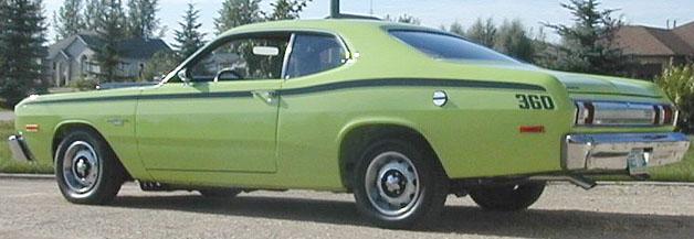 1974 Dodge Dart Sport Specs