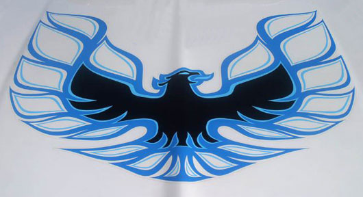 Firebird Logo Screaming Chicken